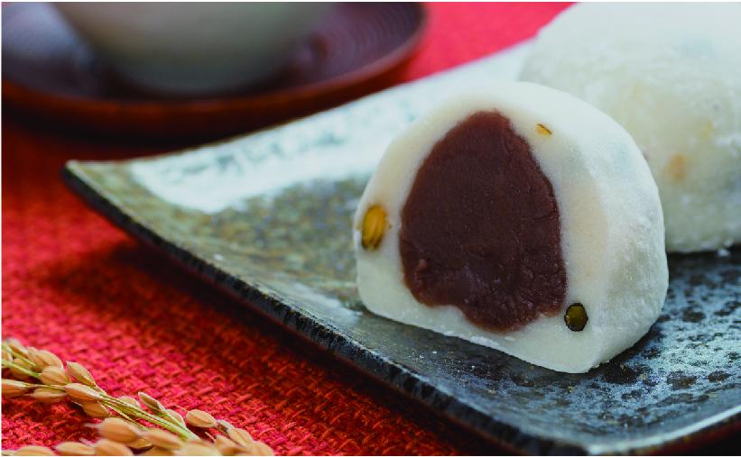 ソフト大福 塩豆